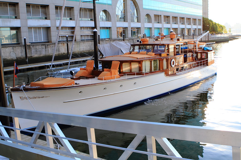 The Motor Yacht Justice JUSTICE A 1930 Express Cruiser