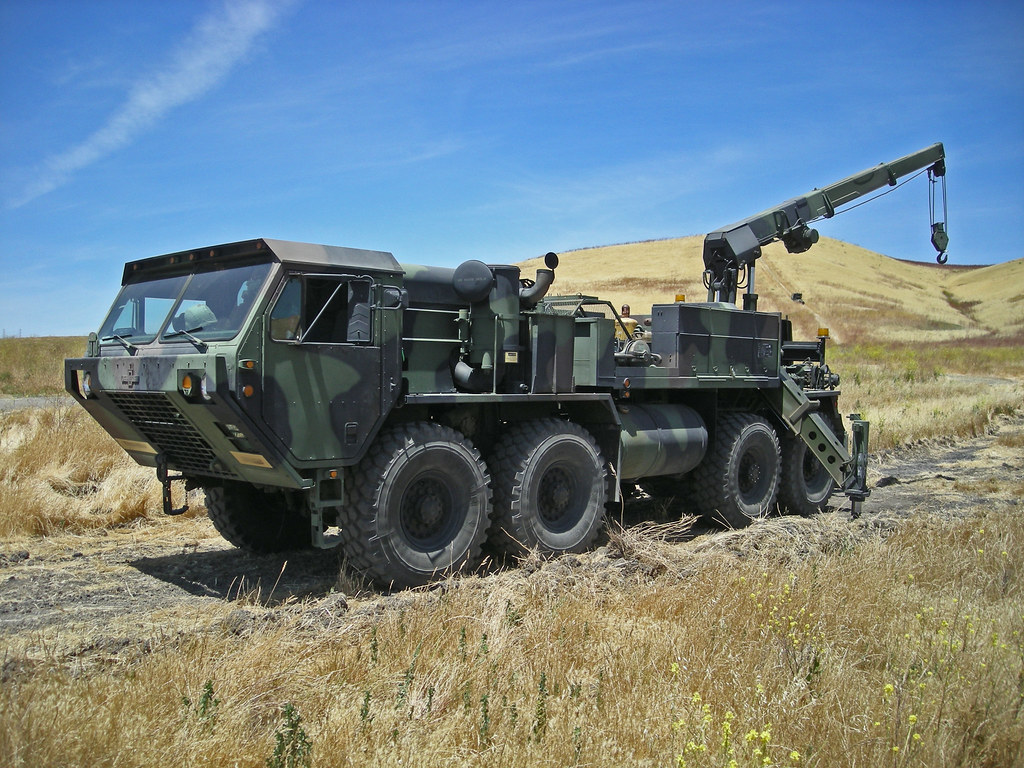 M984 HEMTT recovery truck  M984 Heavy Expanded Mobility