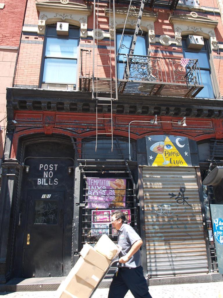 101 Avenue A New York City Pyramid Club Nico   photo by  Flickr