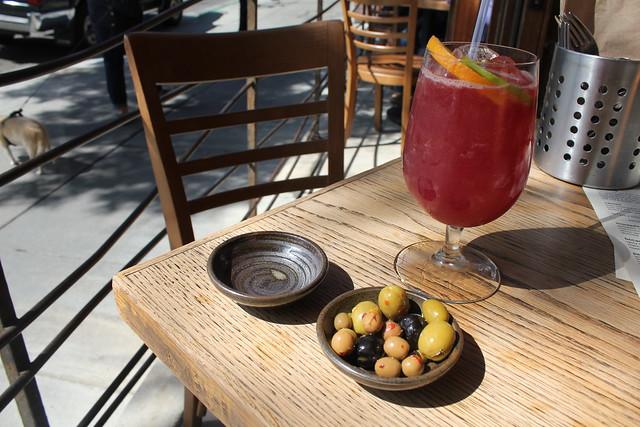 Enjoy a glass of sangria in your Costa Blancan villa
