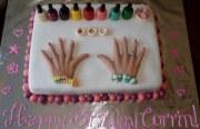 nail salon cake giobaby