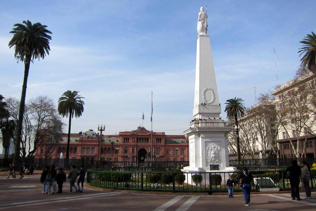 Buenos Aires  Monserrat Plaza de Mayo  Pirmide de Mayo  Flickr