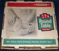 Round Table Pizza Box | Flickr - Photo Sharing!