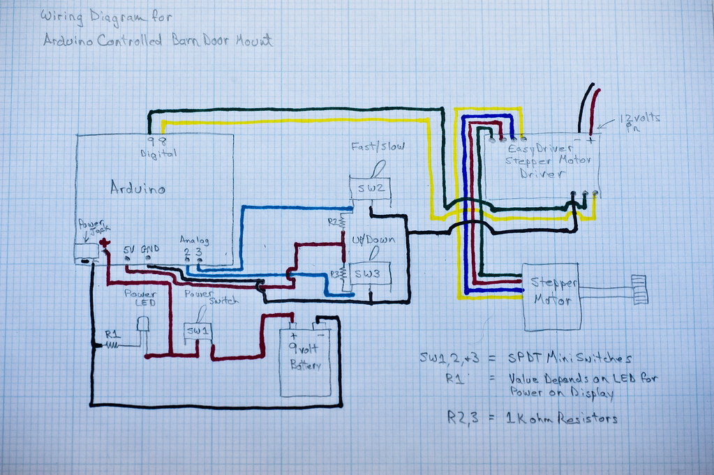 wall switch wiring diagram 1997 nissan maxima radio arduino controlled barn door project - | flickr