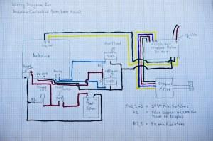 Arduino Controlled Barn Door Project  Wiring Diagram | Flickr