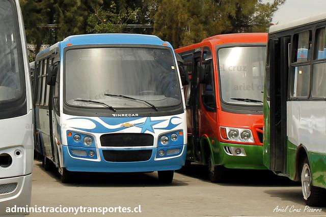Nuevo Inrecar Géminis II - Chevrolet NQR916 para Ruta Las Playas