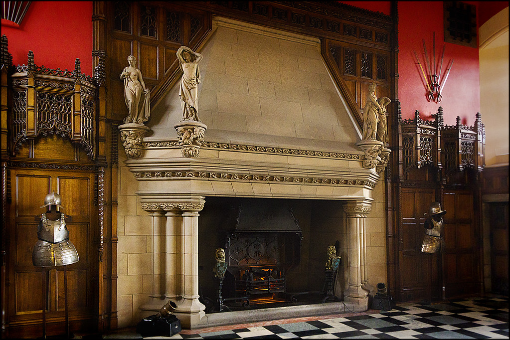 Fireplace Great Hall Edinburgh Castle  dun_deagh  Flickr
