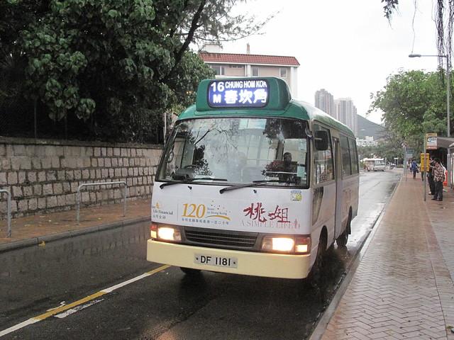 赤柱村(赤柱灘道)小巴總站的港島區16M小巴 | Flickr - Photo Sharing!
