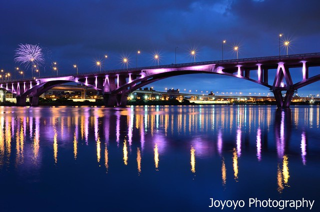 小小煙火 藍調萬板大橋 | Flickr - Photo Sharing!