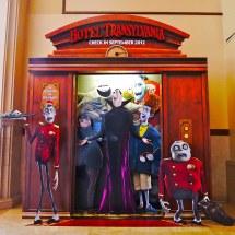 Hotel Transylvania Lobby Display Elaborate