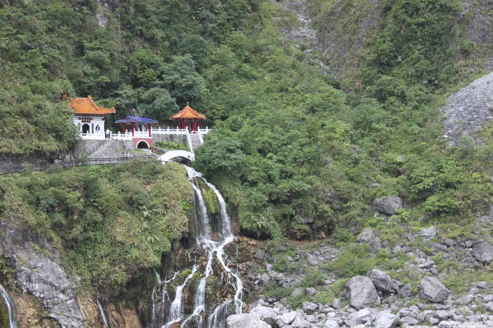 La fuente del agua eterna, en Taroko