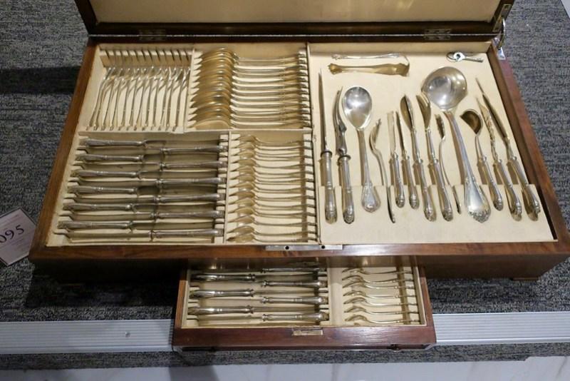 Portuguese silver cutlery