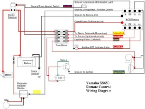 Yamaha XS650 Remote Control Wiring Diagram TampaSVT | Flickr