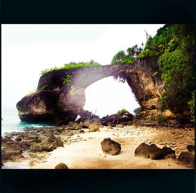 Natural Coral Bridge at Neil Island , Andaman & Nicobar Is ...