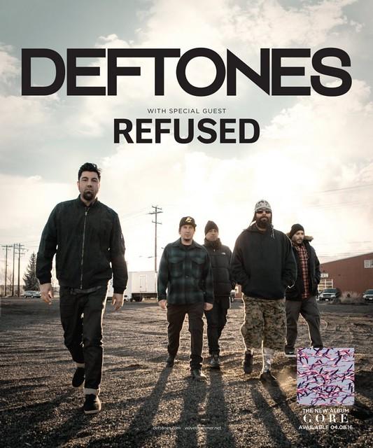 Deftones at Pier 6 Pavilion