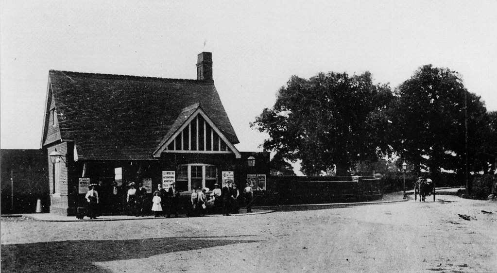 Maldon West Station 1910  Maldon West railway station
