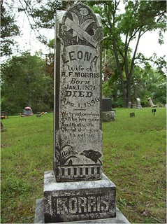 Tombstone After Chalking