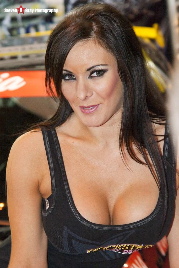 Jen Morgan  Rockstar Energy Drink Ripraw  Autosport Show