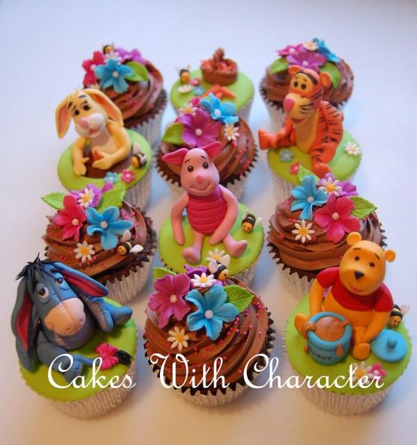 Winnie Pooh & Friends Cupcakes Tracey Thorpe