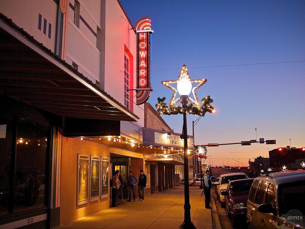 Twilight Colors Howard Theater  Taylor Texas  Main Stree  Flickr