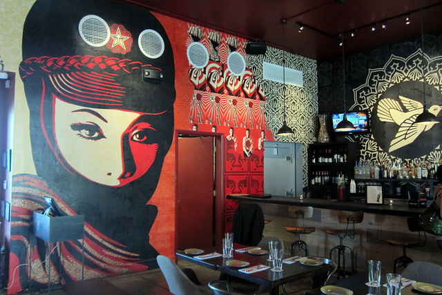 Miami - Wynwood: Wynwood Kitchen & Bar - Shepard Fairey