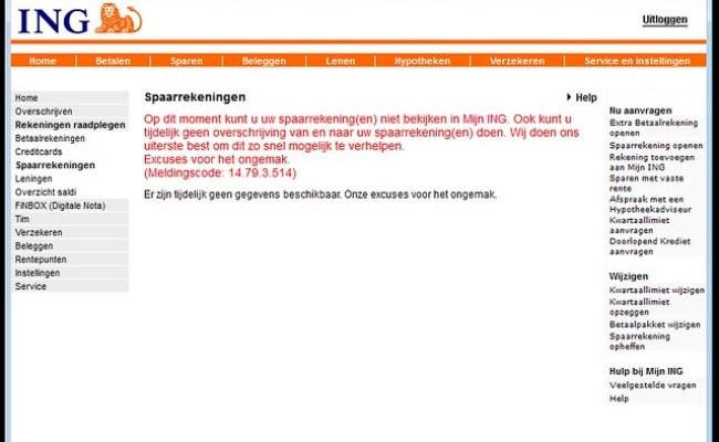 Storing Ing Internetbankieren Flickr Photo Sharing