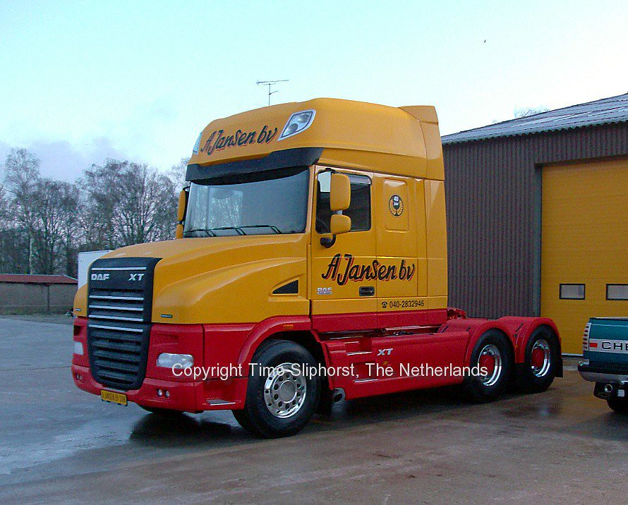 special daf truck  this is such a rare DAF XF truck that