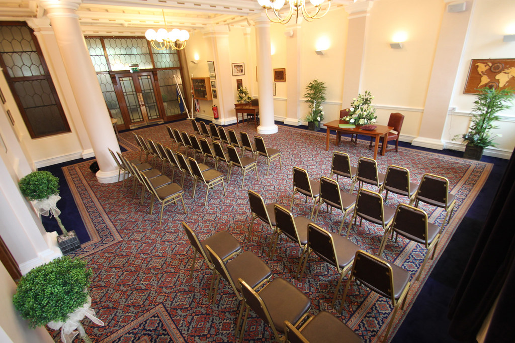 Ceremony room at The Guildhall  Rear view of the ceremony r  Flickr