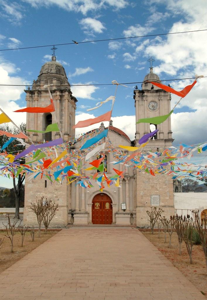 Tequixtepec Church Oaxaca Church At San Miguel