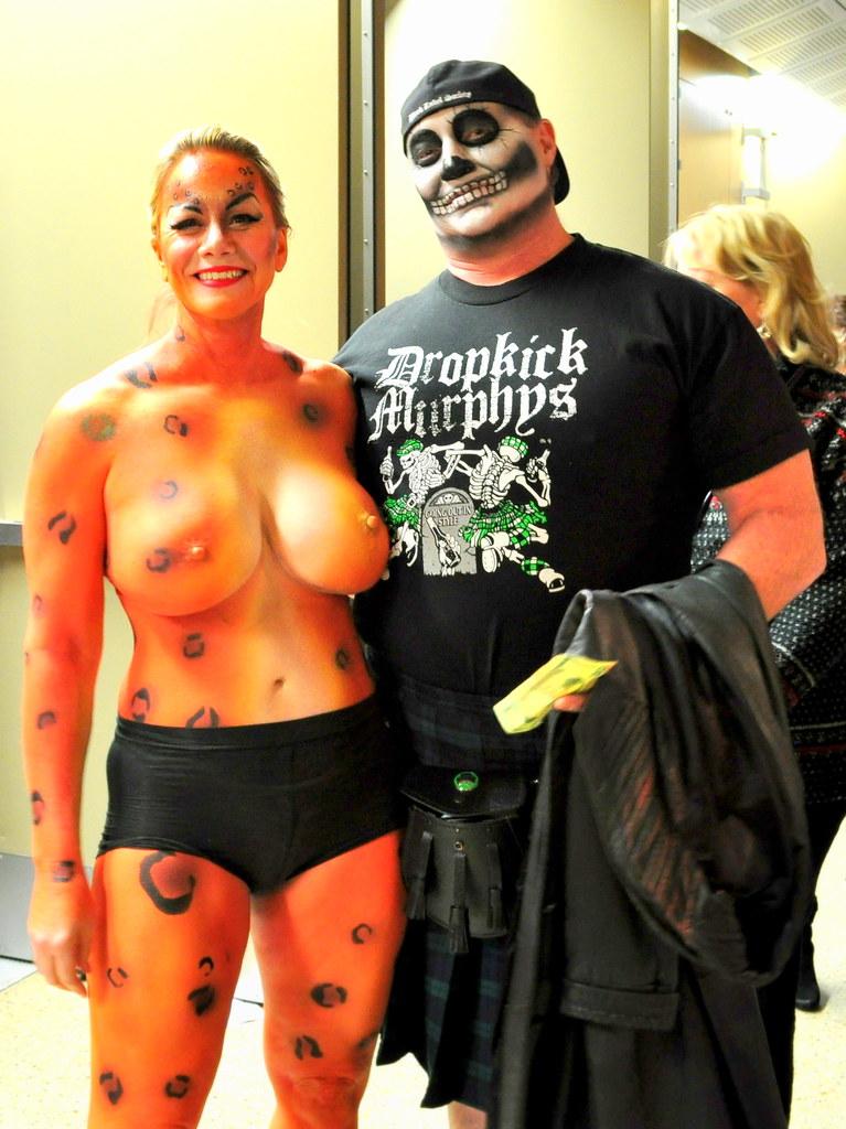 Body Paint  Carnaval Brasilario Austin bodypaint carnav