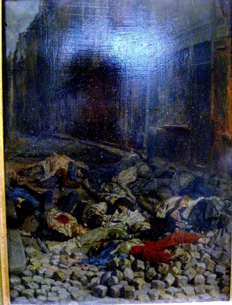 Ernest Meissonier La barricade rue de la Mortellerie ju