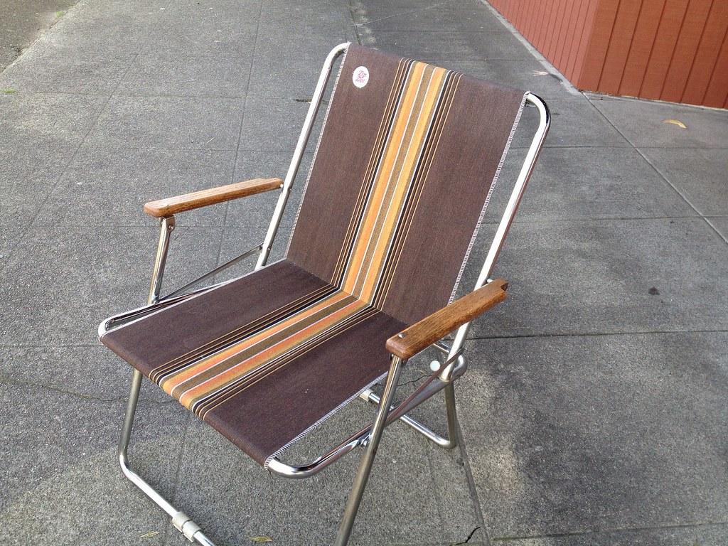 Zip Dee folding chair  Zip Dee brand foldup RV chairs