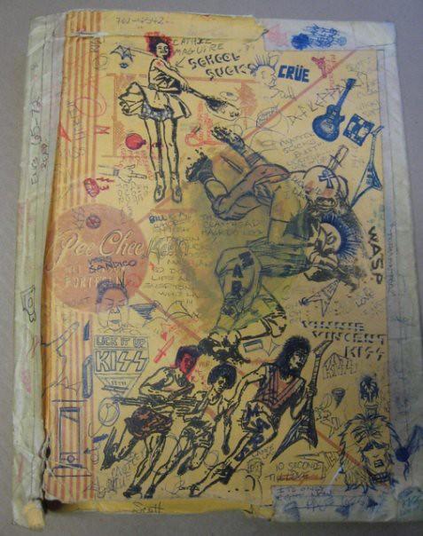 Pee Chee Folder Art SCHOOL SUCKS  If there were any