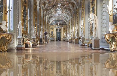 Palazzo Doria Pamphilj  Galleria degli specchi  Roma