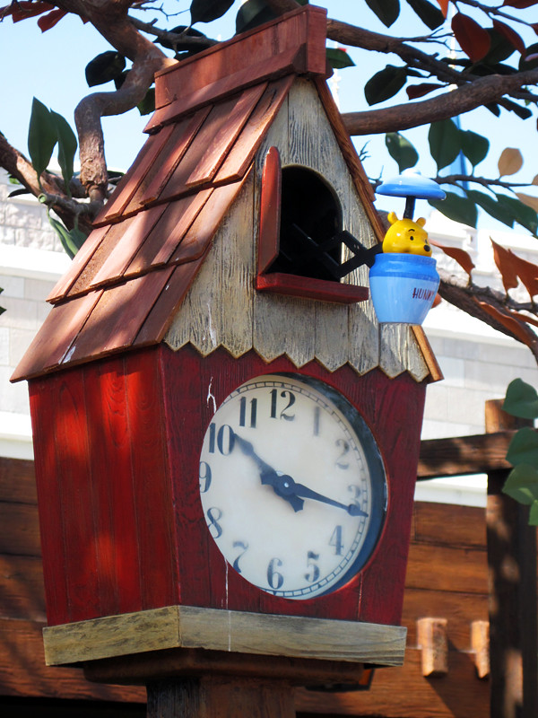 PoohCoo Clock  The Many Adventures of Winnie the Pooh