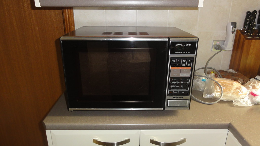 PanasonicNational microwave oven  It is now replaced with   Flickr