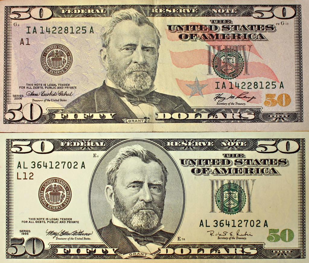 Fifty Dollar Bills