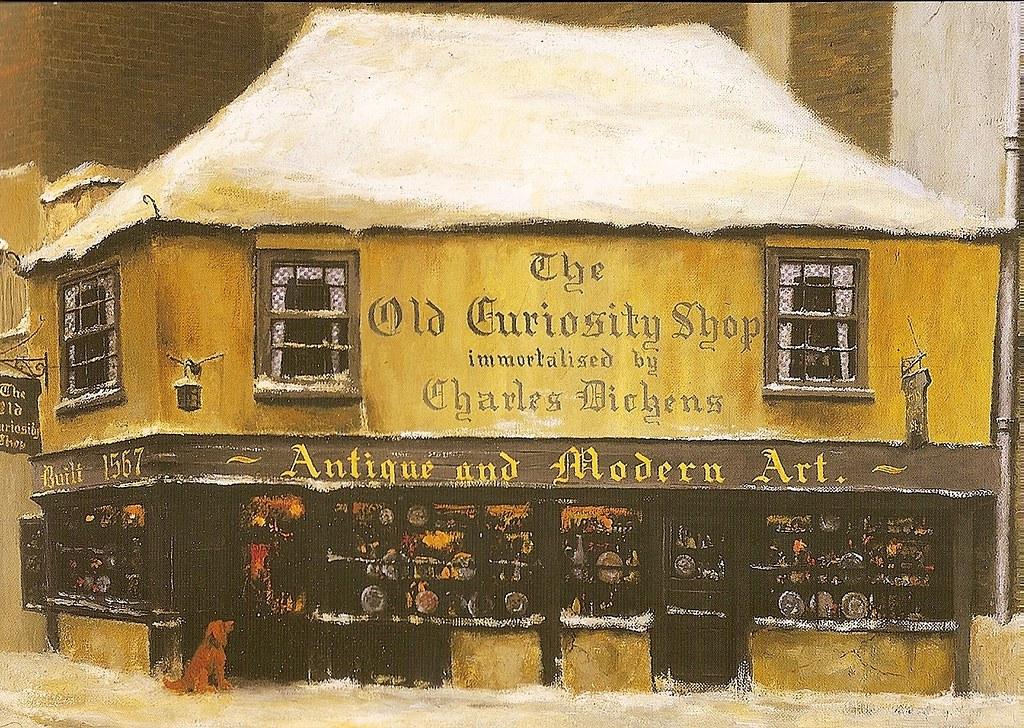 The Old Curiosity Shop By David Shepherd Copyright Hallm