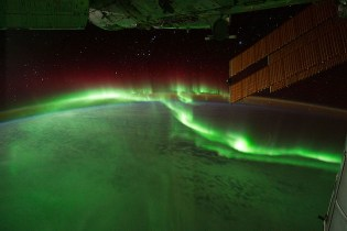 aurorae europe NASA satellite