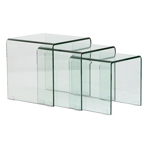 Dormitorio Muebles modernos Mesas de cristal templado