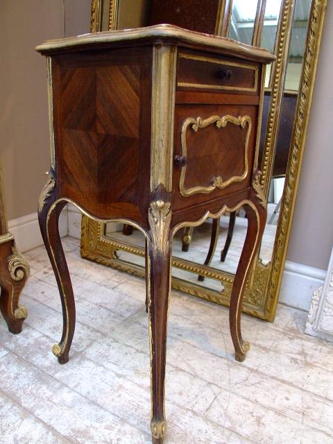 French antique furniture gold leaf gild  French antique