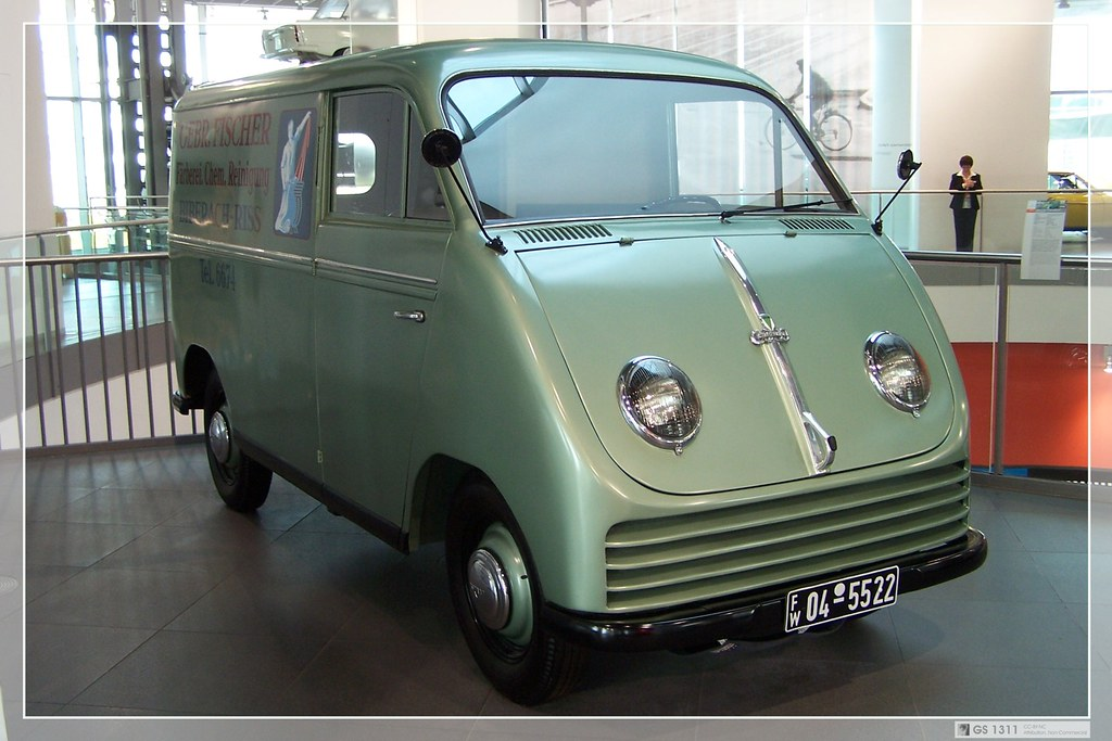 1949  1952 DKW F 89 L Schnelllaster 04  From 1949 to