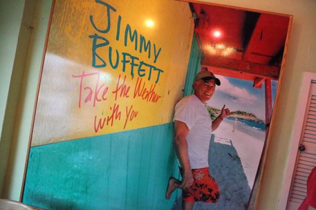 < Jimmy Buffett >