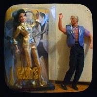Earring Magic Ken is super hoping that Elvis Barbie wears ...