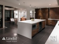 Kitchen from the Living Room | The lowered ceiling in the ...