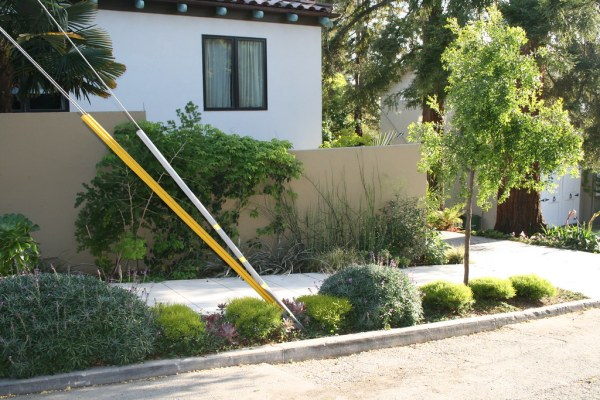 landscaping privacy wall