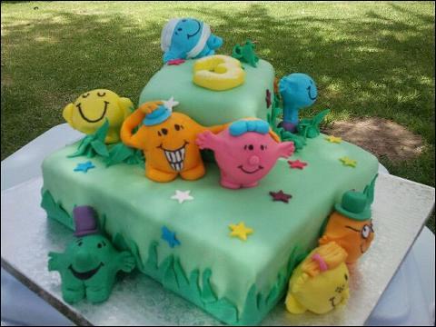Mr Men Amp Little Miss Cake Birthday Cake Deli2desk