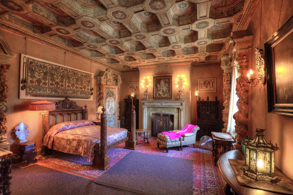 Hearst Castle  Upstair Suites  Michael de la Paz  Flickr