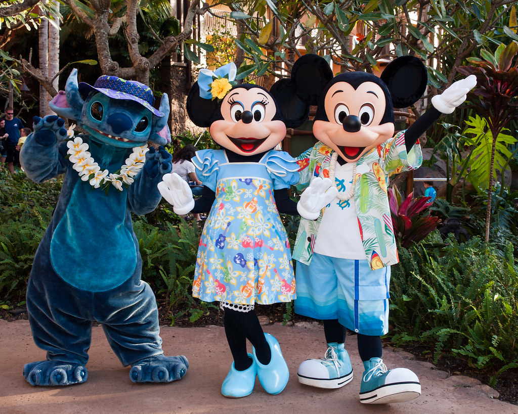 The Out of Towners Explored  Mickie Minnie and Stitch po  Flickr