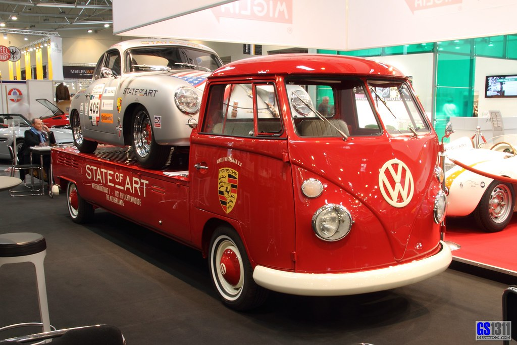 Free Car Design Wallpaper Porsche 356 A On A Volkswagen Bulli T1 Visit My Facebook
